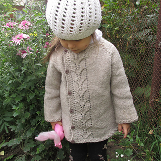 c3e67ce29c2b Ravelry  Leaf Love Baby Sweater pattern by Taiga Hilliard Designs