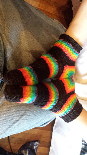 Ravelry Basic Toe Up Socks Dk Pattern By Wee Sandy
