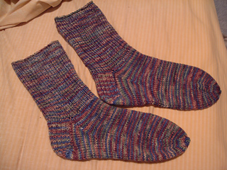 Ravelry 6 Stitches Per Inch Sock Pattern By Ann Budd