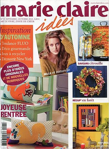 ravelry marie claire id es no 92 septembre octobre 2012 patterns. Black Bedroom Furniture Sets. Home Design Ideas