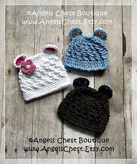 Ravelry  BEAR EARS Beanie Hat No. 55 pattern by Mary Angel Morris 22046b5e040