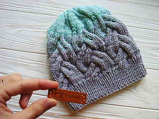 106709a7c08 Ravelry  Gradient Color Adult hat pattern by Annanitato Lolo