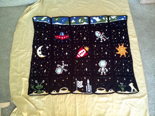 Ravelry Outer Space Blanket Pattern By Shoedivaoriginals