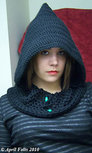 Ravelry Dark Wizard Hood Pattern By April Draven