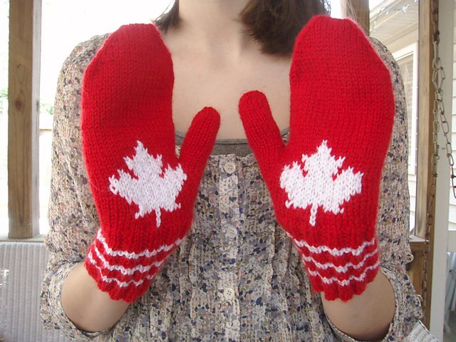Ravelry Maple Leaf Mittens Pattern By Michele C Meadows