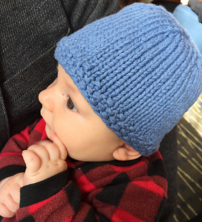 2855d957a3d6 Ravelry  Shower s in an Hour Baby Hat pattern by Ranée Mueller