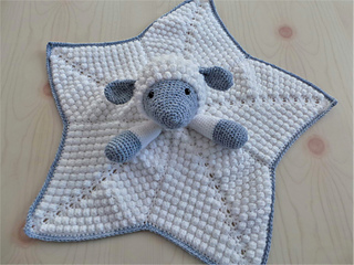 ea97388eaab03 Snuggle Lamb Baby Lovey Blanket pattern by Crafting Happiness
