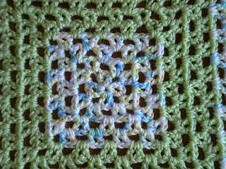 Ravelry Lacy V Stitch Granny Baby Blanket Pattern By