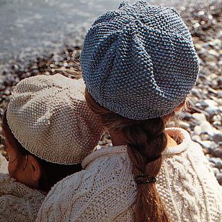 161735a107d8 Ravelry  Beret in moss stitch pattern by Debbie Bliss