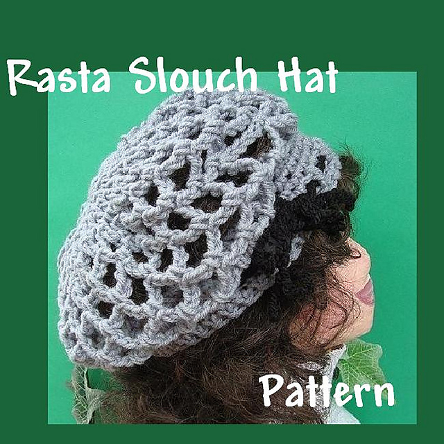 Ravelry Rasta Slouch Hat Or Tam Pattern By Ashton E Leven