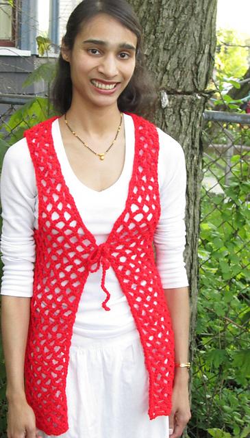 Ravelry 7502 Easy Crochet Vest Pattern By Jack Frost