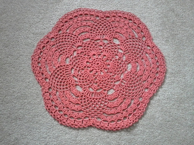 Ravelry Small Pineapple Doily Pattern By Michelle Prieto