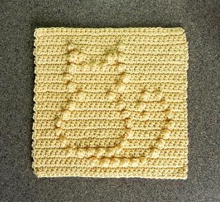 Free Cat Dishcloth Pattern