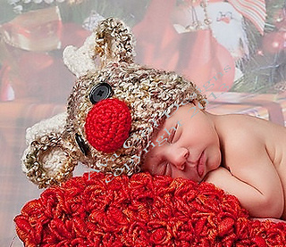 aa46cb997ce Ravelry  Ragnar The Reindeer Hat pattern by Ava Girl Designs