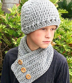 Ravelry  Beanie Hat Neck Warmer - Grayson pattern by Ava Girl Designs 3499cb315c12