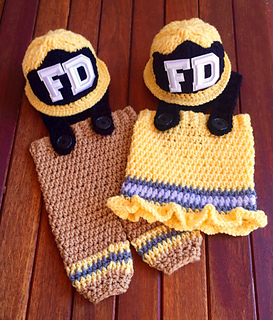 Ravelry  Baby Fireman Set - Frankie pattern by Ava Girl Designs 0625cb2a1479