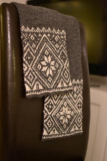 Ravelry Norwegian Snowflake Scarf Pattern By Todd Gocken