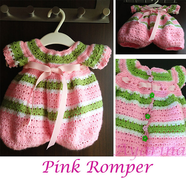 Ravelry Lollipop Romper Pattern By Craftown