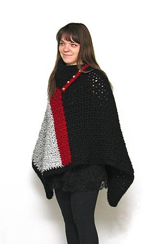 805acc04d Ravelry  Baldwin Poncho pattern by Bernadette Prokopetz