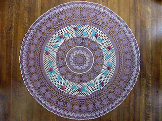 Ravelry Mother S Day Table Topper Pattern By Carol Decker