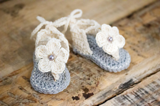f9cb1254fc7 Ravelry  Baby Gladiator Sandals pattern by Hand Heart and Sole