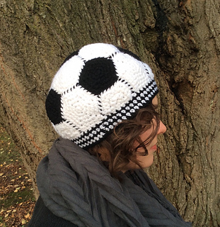 Ravelry soccer ball hat pattern by bailey starkey soccer ball hat by bailey starkey bailey starkey dt1010fo