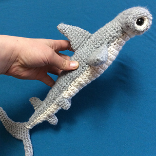 20ae794b3500a Ravelry  Hammerhead Shark pattern by Bailey Starkey