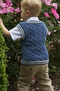 92b80027cca7 Ravelry  Keene Toddler Vest pattern by Marilyn Losee