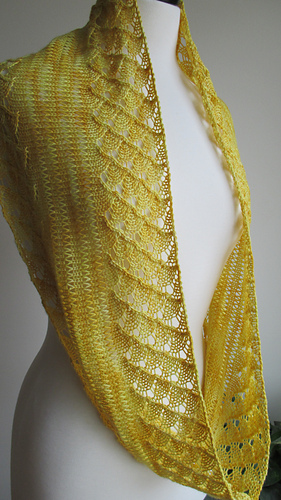 Ravelry Spring Lace Infinity Scarf Pattern By Linda Thach