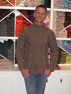 Ravelry: Docker - Men's Sweater pattern by Kim Hargreaves