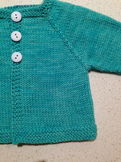 Ravelry Newborn Top Down Cardigan Pattern By Deirdre Mckenna