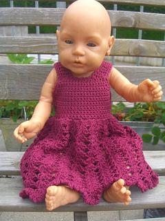 Ravelry  Delightfully Pink Baby Doll Dress pattern by Anna Ness 348b7f60c