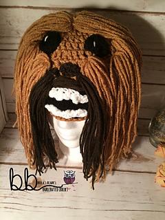Ravelry  Chewbacca Beanie pattern by Rebecca Romero 3b539d73179