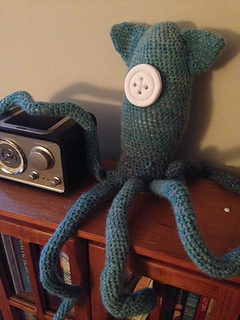 Ravelry: BeckC13's Squid from Coraline Movie