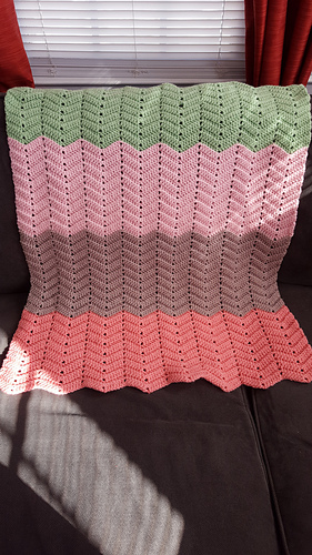 Ravelry Double Sweet Ripple Pattern By Naztazia