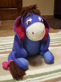 Crochet Amigurumi Eeyore : Ravelry: Eeyore pattern by Leisure Arts
