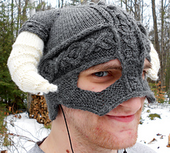 Ravelry: Iron Helmet pattern by Debra Belletete