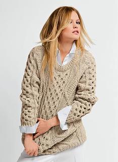 c5fd4f4797f3 Ravelry  652 - Irish Knit Sweater pattern by Bergère de France