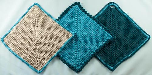 Ravelry Three Way Cloth Pattern By Beth Graham