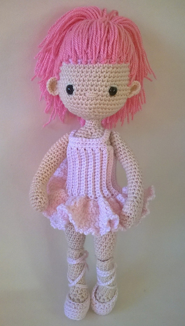 Ravelry: Ballerina Outfit - my little crochet doll pattern by Betty ...