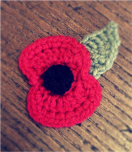Ravelry Crochet Remembrance Poppy Pattern By Bilgewater Davis