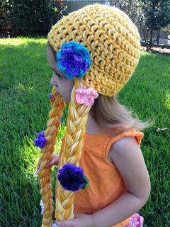 5f8f2375f02 Ravelry  Rapunzel Hat pattern by Bizee B Boutique