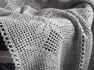 Ravelry Romantic Gray Blanket Pattern By Blazenka Simic Boro