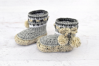 7dcaa7731 Nordic Baby Boots pattern by Yarn Blossom Boutique