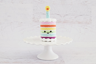Ravelry Rainbow Birthday Cake Pattern By Yarn Blossom Boutique
