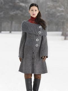 Moscow Coat pattern by Vladimira Ilkovicova