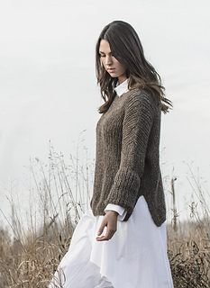 66597fc5a Ravelry  Preston Pullover pattern by Sylvia Hager