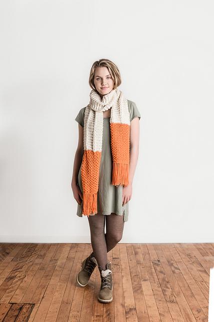 e0b517eef Ravelry  McKinley Scarf pattern by Nancy Ekvall