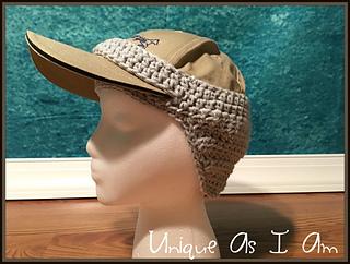 Ravelry  Baseball Cap Ear Warmer pattern by Susan Preston 1f8c9b1f24c