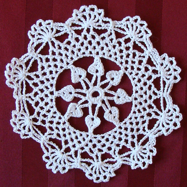 Ravelry Snowflake Doily 7817 Pattern By The Spool Cotton Company